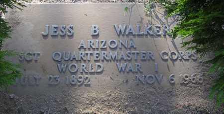 WALKER, JESS B. - Yavapai County, Arizona | JESS B. WALKER - Arizona Gravestone Photos