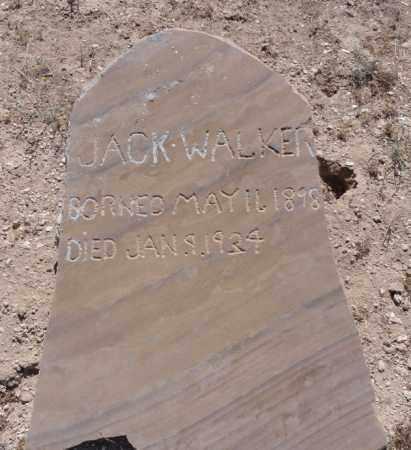 WALKER, JACK - Yavapai County, Arizona   JACK WALKER - Arizona Gravestone Photos
