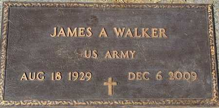 WALKER, JAMES A. - Yavapai County, Arizona   JAMES A. WALKER - Arizona Gravestone Photos