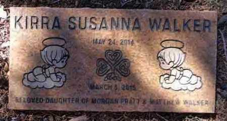 WALKER, KIRRA SUSANNA - Yavapai County, Arizona | KIRRA SUSANNA WALKER - Arizona Gravestone Photos