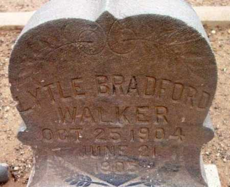 WALKER, LYTLE BRADFORD - Yavapai County, Arizona | LYTLE BRADFORD WALKER - Arizona Gravestone Photos