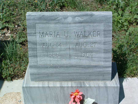 WALKER, MARIA U. - Yavapai County, Arizona | MARIA U. WALKER - Arizona Gravestone Photos
