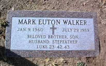WALKER, MARK EUTON - Yavapai County, Arizona | MARK EUTON WALKER - Arizona Gravestone Photos