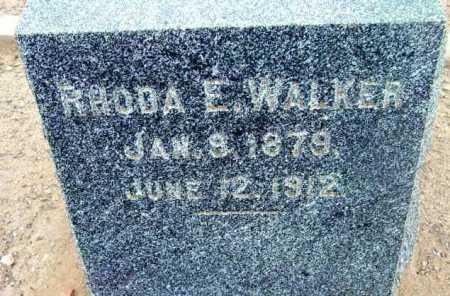 WALKER, RHODA E. - Yavapai County, Arizona | RHODA E. WALKER - Arizona Gravestone Photos