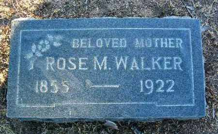 WALKER, ROSE M. - Yavapai County, Arizona | ROSE M. WALKER - Arizona Gravestone Photos