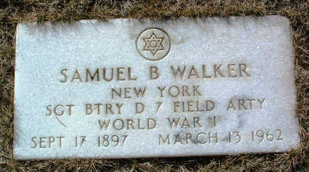 WALKER, SAMUEL B. - Yavapai County, Arizona | SAMUEL B. WALKER - Arizona Gravestone Photos