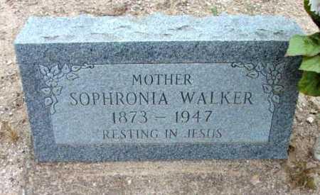 WALKER, SOPHRONIA C. - Yavapai County, Arizona   SOPHRONIA C. WALKER - Arizona Gravestone Photos