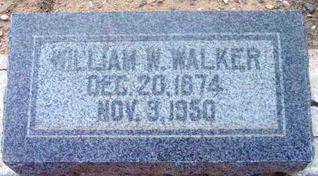 WALKER, WILLIAM WALLACE - Yavapai County, Arizona | WILLIAM WALLACE WALKER - Arizona Gravestone Photos