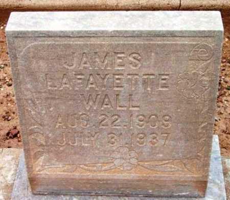 WALL, JAMES LAFAYETTE - Yavapai County, Arizona   JAMES LAFAYETTE WALL - Arizona Gravestone Photos