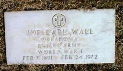 WALL, JOE EARL - Yavapai County, Arizona | JOE EARL WALL - Arizona Gravestone Photos