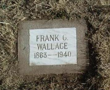 WALLACE, FRANK C. - Yavapai County, Arizona   FRANK C. WALLACE - Arizona Gravestone Photos