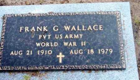 WALLACE, FRANK G. - Yavapai County, Arizona   FRANK G. WALLACE - Arizona Gravestone Photos