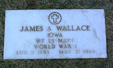 WALLACE, JAMES  A. - Yavapai County, Arizona | JAMES  A. WALLACE - Arizona Gravestone Photos