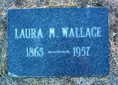 WALLACE, LAURA M. - Yavapai County, Arizona | LAURA M. WALLACE - Arizona Gravestone Photos
