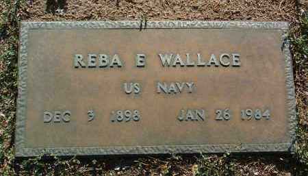 WALLACE, REBA ELTON - Yavapai County, Arizona | REBA ELTON WALLACE - Arizona Gravestone Photos