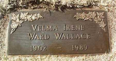 WARD, VELMA IRENE - Yavapai County, Arizona | VELMA IRENE WARD - Arizona Gravestone Photos