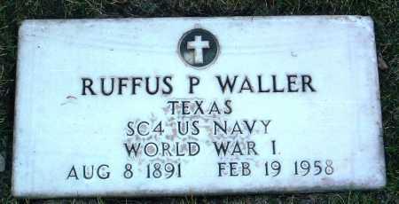 WALLER, RUFFUS PHILLIP - Yavapai County, Arizona | RUFFUS PHILLIP WALLER - Arizona Gravestone Photos