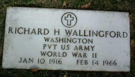 WALLINGFORD, RICHARD H. - Yavapai County, Arizona | RICHARD H. WALLINGFORD - Arizona Gravestone Photos