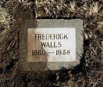 WALLS, FREDERICK - Yavapai County, Arizona | FREDERICK WALLS - Arizona Gravestone Photos