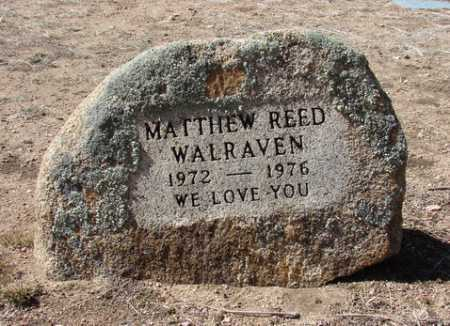 WALRAVEN, MATTHEW REED - Yavapai County, Arizona | MATTHEW REED WALRAVEN - Arizona Gravestone Photos