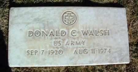 WALSH, DONALD C. - Yavapai County, Arizona | DONALD C. WALSH - Arizona Gravestone Photos