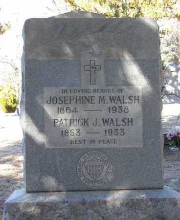 WALSH, JOSEPHINE M. - Yavapai County, Arizona | JOSEPHINE M. WALSH - Arizona Gravestone Photos