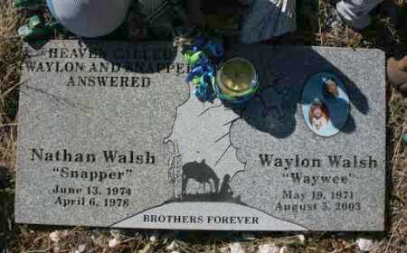 WALSH, NATHAN RODERICK - Yavapai County, Arizona | NATHAN RODERICK WALSH - Arizona Gravestone Photos