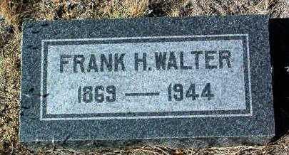 WALTER, FRANK H. - Yavapai County, Arizona | FRANK H. WALTER - Arizona Gravestone Photos