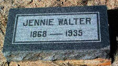 WALTER, JENNIE - Yavapai County, Arizona | JENNIE WALTER - Arizona Gravestone Photos