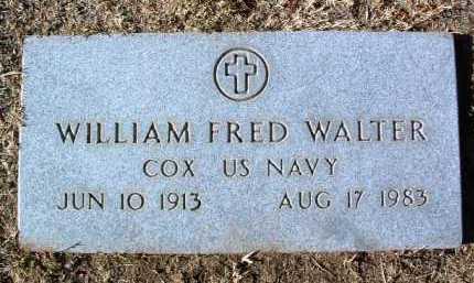 WALTER, WILLIAM FRED - Yavapai County, Arizona   WILLIAM FRED WALTER - Arizona Gravestone Photos