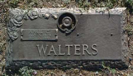 WALTERS, APRIL CHRISTINE - Yavapai County, Arizona | APRIL CHRISTINE WALTERS - Arizona Gravestone Photos