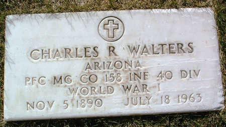 WALTERS, CHARLES RUSSELL - Yavapai County, Arizona   CHARLES RUSSELL WALTERS - Arizona Gravestone Photos