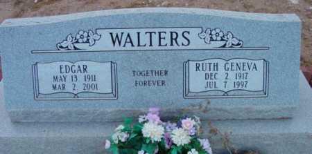 WALTERS, EDGAR - Yavapai County, Arizona | EDGAR WALTERS - Arizona Gravestone Photos