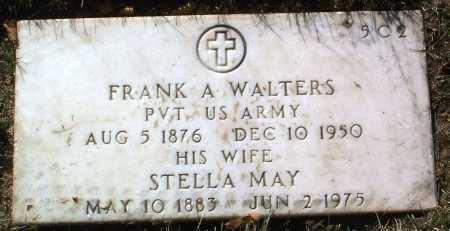WALTERS, FRANK A. - Yavapai County, Arizona | FRANK A. WALTERS - Arizona Gravestone Photos