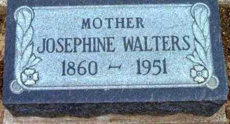 WALTERS, JOSEPHINE - Yavapai County, Arizona | JOSEPHINE WALTERS - Arizona Gravestone Photos