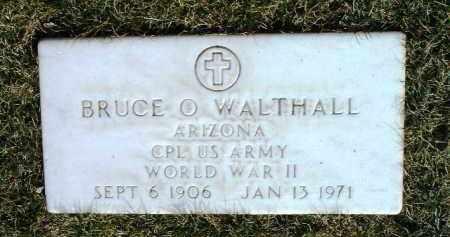 WALTHALL, BRUCE OTTOWAY - Yavapai County, Arizona   BRUCE OTTOWAY WALTHALL - Arizona Gravestone Photos