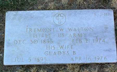 WALTON, GLADYS B. - Yavapai County, Arizona | GLADYS B. WALTON - Arizona Gravestone Photos