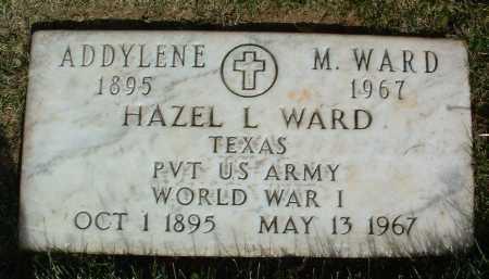 WARD, HAZEL LINDSEY - Yavapai County, Arizona | HAZEL LINDSEY WARD - Arizona Gravestone Photos