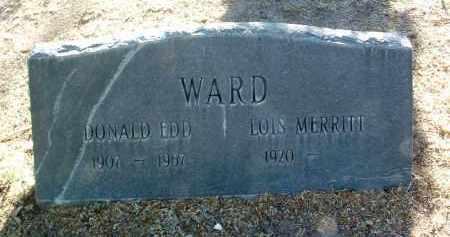 WARD, DONALD EDD - Yavapai County, Arizona | DONALD EDD WARD - Arizona Gravestone Photos
