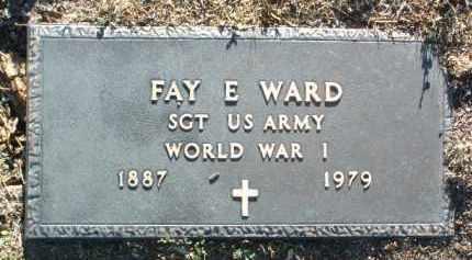 WARD, FAY ED - Yavapai County, Arizona | FAY ED WARD - Arizona Gravestone Photos