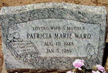 STEWART WARD, PATRICIA - Yavapai County, Arizona | PATRICIA STEWART WARD - Arizona Gravestone Photos