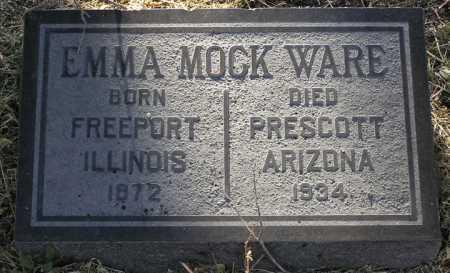 MOCK WARE, EMMA A. - Yavapai County, Arizona | EMMA A. MOCK WARE - Arizona Gravestone Photos