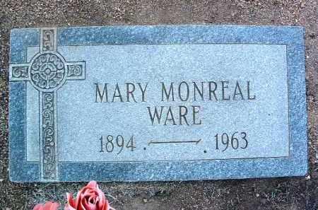 MONREAL WARE, MARY J. - Yavapai County, Arizona | MARY J. MONREAL WARE - Arizona Gravestone Photos