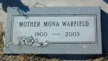 WARFIELD, MONA (SALLIE) - Yavapai County, Arizona | MONA (SALLIE) WARFIELD - Arizona Gravestone Photos