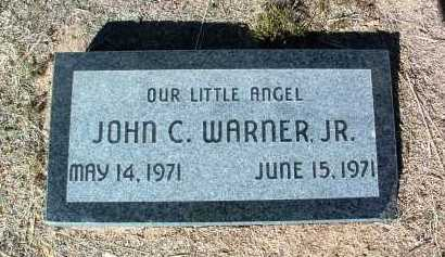 WARNER, JOHN CHARLES, JR. - Yavapai County, Arizona | JOHN CHARLES, JR. WARNER - Arizona Gravestone Photos
