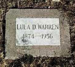 HARRIS WARREN, LULA D. - Yavapai County, Arizona | LULA D. HARRIS WARREN - Arizona Gravestone Photos