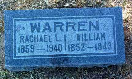 MITCHELL WARREN, RACHAEL LOUISA - Yavapai County, Arizona | RACHAEL LOUISA MITCHELL WARREN - Arizona Gravestone Photos