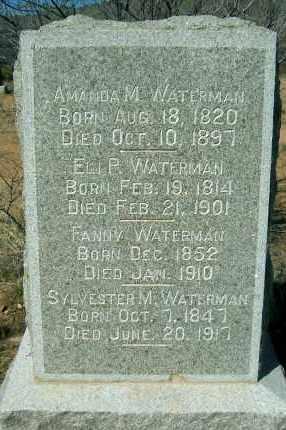 WATERMAN, ELI - Yavapai County, Arizona | ELI WATERMAN - Arizona Gravestone Photos