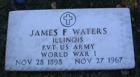 WATERS, JAMES FRANCIS - Yavapai County, Arizona   JAMES FRANCIS WATERS - Arizona Gravestone Photos