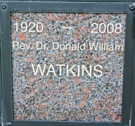 WATKINS, DONALD WILLIAM - Yavapai County, Arizona   DONALD WILLIAM WATKINS - Arizona Gravestone Photos